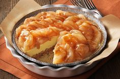 Surprise the whole family with this delicious Apple-Caramel Tart. A ready-made crust and apple pie filling make prep for this Apple-Caramel Tart a cinch.
