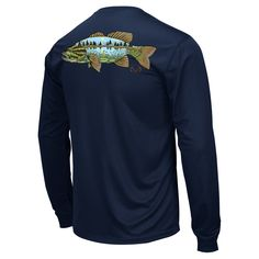 This Lakeside Performance Long Sleeve Shirt t is Polyester with moisture wicking technology. Fishing Outfits, Country Outfits, Long Sleeve Shirts, Womens Fashion, Mens Tops, Neckline, Graphics, Technology, Clothes