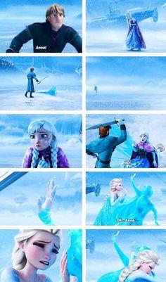 This scene makes me cry - Frozen - Disney