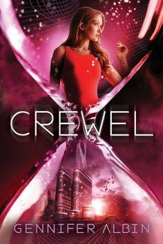 #CoverReveal Crewel (Crewel World, #1) by @GenniferAlbin