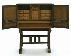 Cabinet, Charles Robert Ashbee, about 1905. Museum no. CIRC.234:1, 2-1960