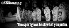 The sport gives back what you put in.