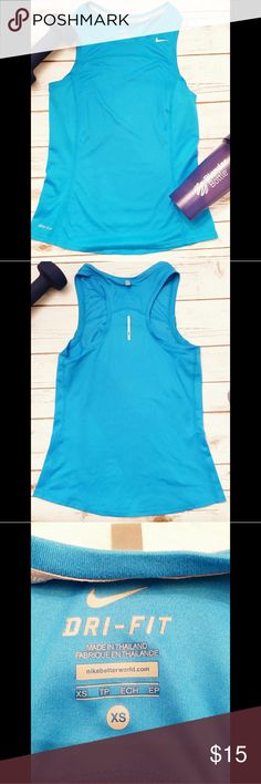 Nike Dri-fit top Excellent used condition. No stains or flaws. Nike Tops Tank Tops