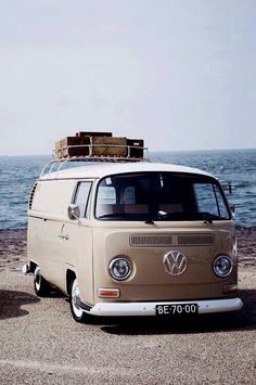 Vw bus and the beach. My two favorite things in the world.