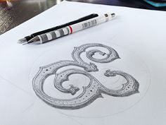 Ampersand - One of my latest lettering work