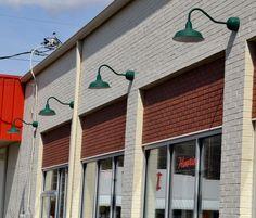 6822c8041654 Gooseneck Sign Lights Showcase Tyler Florence s Store