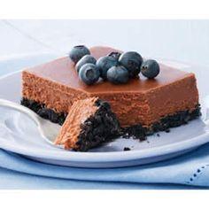 PHILADELPHIA Double-Chocolate Cheesecake @ Allrecipes.com