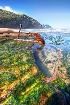 Shipwreck Beach, The Great Ocean Road, Victoria, Australia
