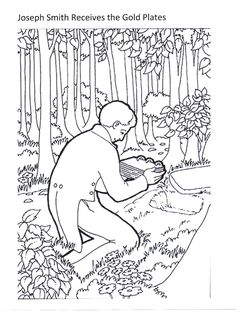 Primary 3 Lesson 15 Lds Coloring Pages Coloring Pages Lds