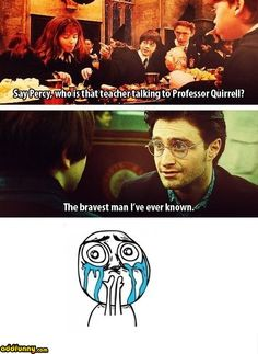 The first and last mention of Professor Snape ❤
