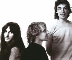 Geddy Lee, Alex Lifeson, and Neil Peart