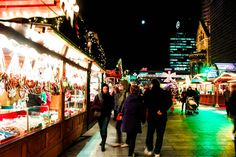 Christmas Market in Berlin, Germany.   Check out for more travel tips about Berlin!