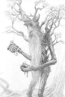 TreeBeard by Alan Lee   Google Image Result