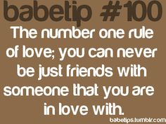 babetips #100...story of my life!