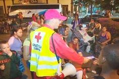 Es importante el apoyo de los voluntarios de la Cruz Roja.