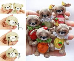 Tiny Teddy Crochet Pattern Collection Video
