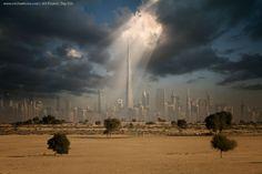 Dubai in a whole new light. Amazing