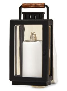 Lantern Nightlight Wallflowers Fragrance Plug | Bath & Body Works Semi Annual Sale, Keep An Eye On, Air Freshener, Wooden Handles, Fragrance Oil, Bath And Body Works, Candle Sconces, Night Light, Plugs