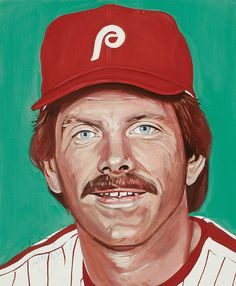 Mike Schmidt portrait by Andy Jurinko