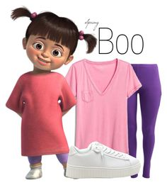 """Boo~ DisneyBound"" by basic-disney ❤ liked on Polyvore featuring Gap, Disney and plus size clothing"
