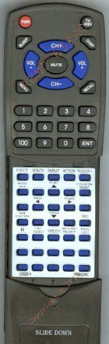 PANASONIC Replacement Remote Control for LSSQ0314, PVV4622, PVV4662K by Redi-Remote. $19.95. This is a custom built replacement remote made by Redi Remote for the PANASONIC remote control number LSSQ0314. *This is NOT an original  remote control. It is a custom replacement remote made by Redi-Remote*  This remote control is specifically designed to be compatible with the following models of PANASONIC units:   LSSQ0314, PVV4622, PVV4662K  *If you have any concerns with the remote ...