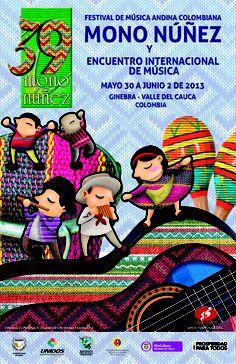 Un total de 28 propuestas harán parte de la 39o. versión del Festival de Música Andina Mono Nuñez