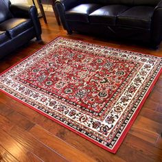 my new supper inexpensive fake persian rug! Taj Mahal Red Oriental Bordered Traditional Area Rug x Red Oriental Rug, Oriental Design, Traditional Area Rugs, Discount Rugs, Rug Shapes, Bed Furniture, Shades Of Red, Throw Rugs, Cool Rugs