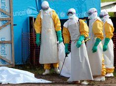 Nigeria: Verdacht auf ersten Ebola-Fall inMillionenstadt - SPIEGEL ONLINE Ebola Helpers in Liberia
