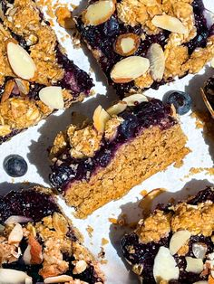 Small Batch Blueberry Jam Crumble Breakfast Bars by ClareLangan   Quick & Easy Recipe   The Feedfeed Gluten Free Meal Plan, Gluten Free Recipes, Breakfast Bars, Breakfast Pastries, Sweet Breakfast, Breakfast Ideas, Blueberry Crumble, Crumble Topping, Quick Easy Meals