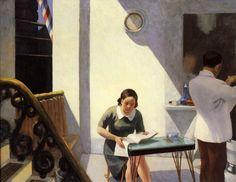 """The Barber Shop"", Edward Hopper, 1931   /   WP"