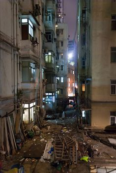 Back of Chungking Mansions