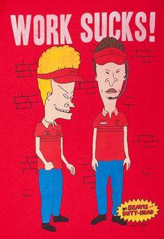 Cartoon Beavis and Butt-head Wallet B/&B Colorful Long Purse
