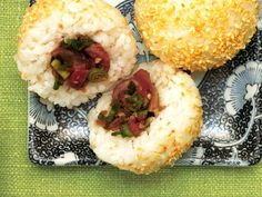 Onigiri with Pickled Ginger & Mushrooms would be a fantastic addition to the menu #LoveSobeys