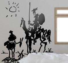 Vinilo decorativo Quijote Picasso