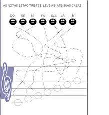 """Képtalálat a következőre: """"notas musicais atividades"""""""