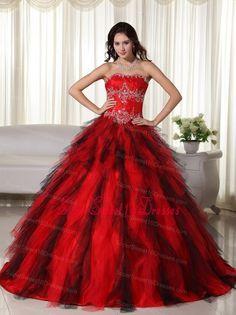 Sweetheart Neckline Lace Up Black Quinceanera Dresses.jpg (582×776 ...