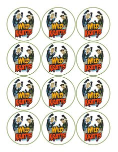 Wild Kratts Edible Image Cupcake Toppers. $8.99, via Etsy.