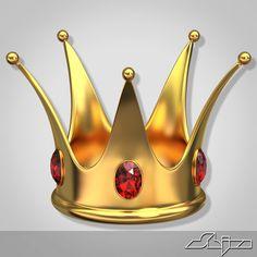 3D Crown - 3D Model