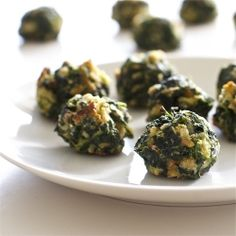 These savory spinach bites are perfect for entertaining - they're delicious, easy to make and can be prepared ahead of time.