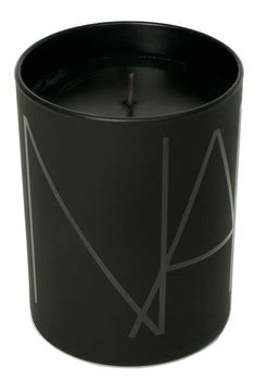 velvety chocolate, delicate whipped cream accord, coffee bean, cocoa and creamy vanilla develop into a full-bodied yet luxurious concoction. NARS 'Acapulco' Candle - Not so sure about the vanilla, but like the black. Black Flame Candle, Black Candles, Hermes Armband, Vases, Home Spray, Candle Packaging, Perfume Packaging, Candle Branding, Candle Labels