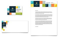 Advertising Company Business Card & Letterhead