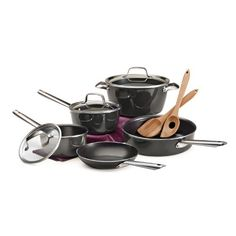 Tramontina 10 pc PFOAfree Porcelain Enamel Nonstick Cookware Set * Details can be found by clicking on the affiliate link Amazon.com.