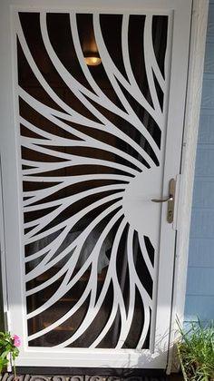 23 Clever DIY Christmas Decoration Ideas By Crafty Panda Steel Gate Design, Door Gate Design, Door Design Interior, Ceiling Design, Wall Design, Wooden Main Door Design, Steel Security Doors, Window Grill Design, Unique House Design