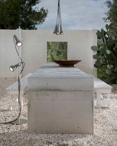 Torcia - Torch in grey techno-polymer Outdoor  #lightingdesign #homelightingideas #lamps