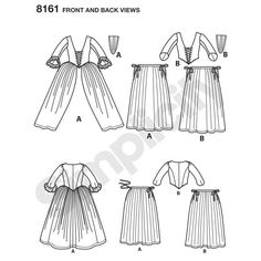 DIY Outlander Inspired Cosplay Pattern Series by American Duchess for Simplicity  If you've been looking for affordable sewing patterns for 18th century Cosplay dresses or a pattern for a corset, this