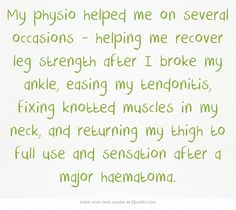- James Dignan. (Physio Geoff Anderson, Caversham Physiotherapy, Dunedin).