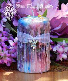 White Magick Alchemy - Faerie Muse . Herbal Alchemy Magick Candle . Ambrosia . For Faerie Magick, Sight, Nature Spirit Workings, $13.95 (http://www.whitemagickalchemy.com/faerie-muse-herbal-alchemy-magick-candle-ambrosia-for-faerie-magick-sight-nature-spirit-workings/)