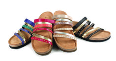 Prescott women's sandals from Naot come in several colours.
