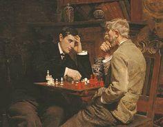 Julian Rossi Ashton The Chess Game 1878