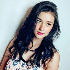 Tips For Changing Your Hairstyle. If you like your hairdo, there's no reason to agonize over making a s Filipina Actress, Filipina Beauty, Liza Soberano, Just Beauty, Beauty Women, 168, Asian Hair, Hair Care Tips, Celebrity Look